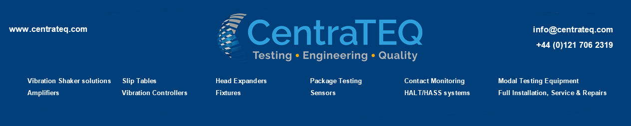 CentraTEQ Banner with Logo and contact details