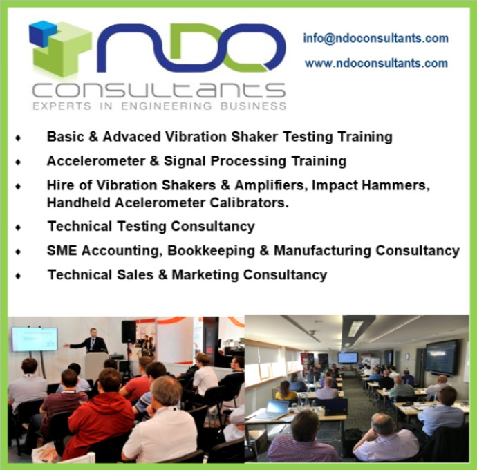 NDO Consultants advert